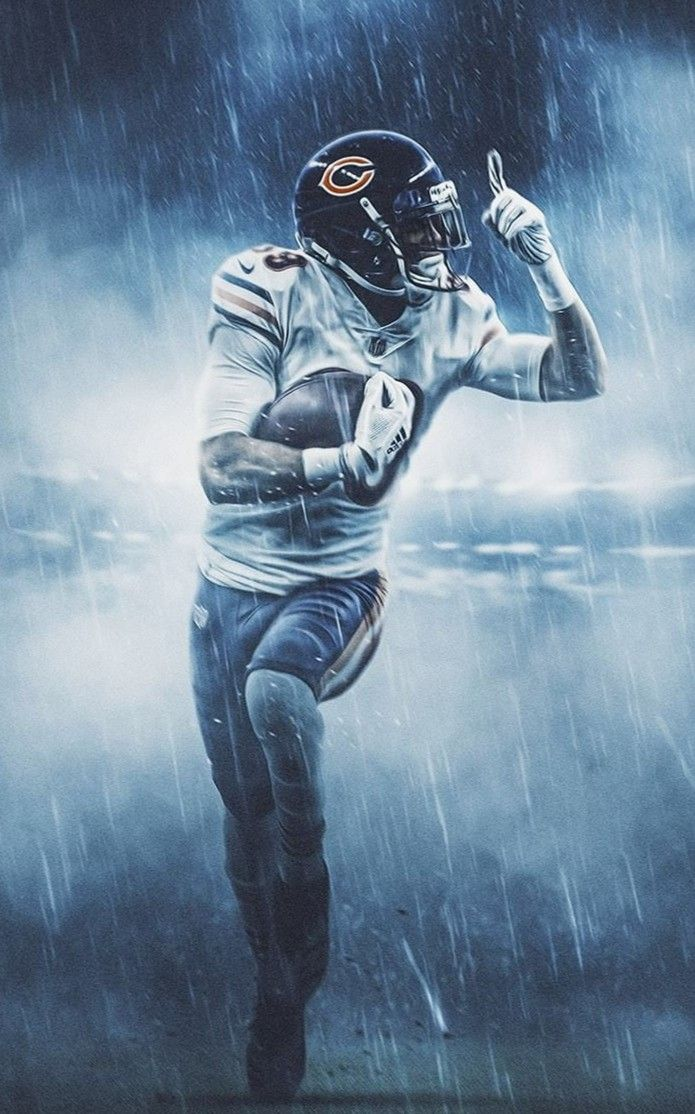 Pin By Jason Streets On Nfl Chicago Bears Wallpaper Chicago Bears Pictures Chicago Bears Football Cool backgrounds for football players