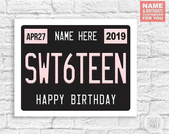 Personalized 17th Birthday Newspaper 17th Birthday Gift Idea