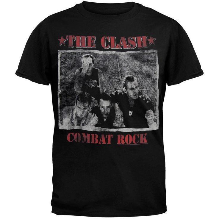 The Clash - Combat Rock T-Shirt