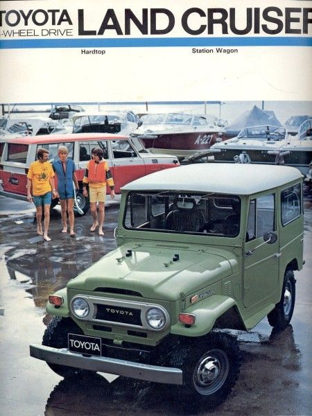 """1967 — Production of the FJ55 began. The FJ55 was a 4-door station wagon version based on the FJ40's Drive-train, replacing the 4-Door FJ45V (I). It was colloquially known as the """"Moose"""". It has also been referred to as a """"pig"""" or an """"iron pig"""". The FJ55 had a longer wheelbase 2700 mm and was designed to be sold in North America and Australia. https://www.facebook.com/LandCruiserWorld #fj55 #toyota #landcruiser #ironpig #4x4 #offroad"""