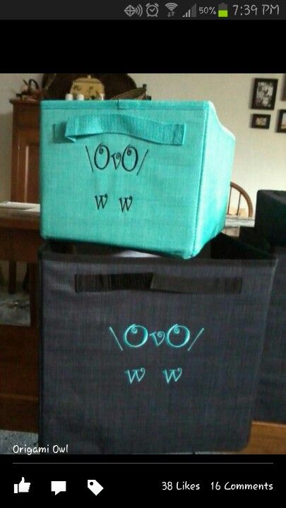 Love owls and love thirty one - such a cute an unique way to personalize your Thirty-One product!  www.mythirtyone.com/abreynolds