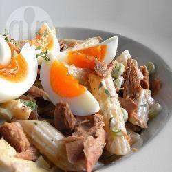 Pastasalade+met+tonijn-mayonaise+@+allrecipes.nl