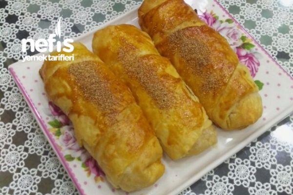 Çok Kabaran Patatesli Börek Puf Puf Tarifi nasıl yapılır? 13.539 kişinin defterindeki bu tarifin resimli anlatımı ve deneyenlerin fotoğrafları burada. Yazar: Nermin Mutfakta