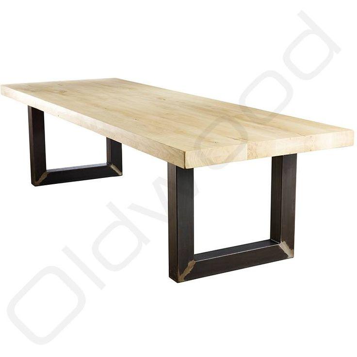 De industriële tafel Washington beschikbaar bij Oldwood vind u bij de robuuste tafels. Want voor robuuste tafels, zit u bij Oldwood goed.