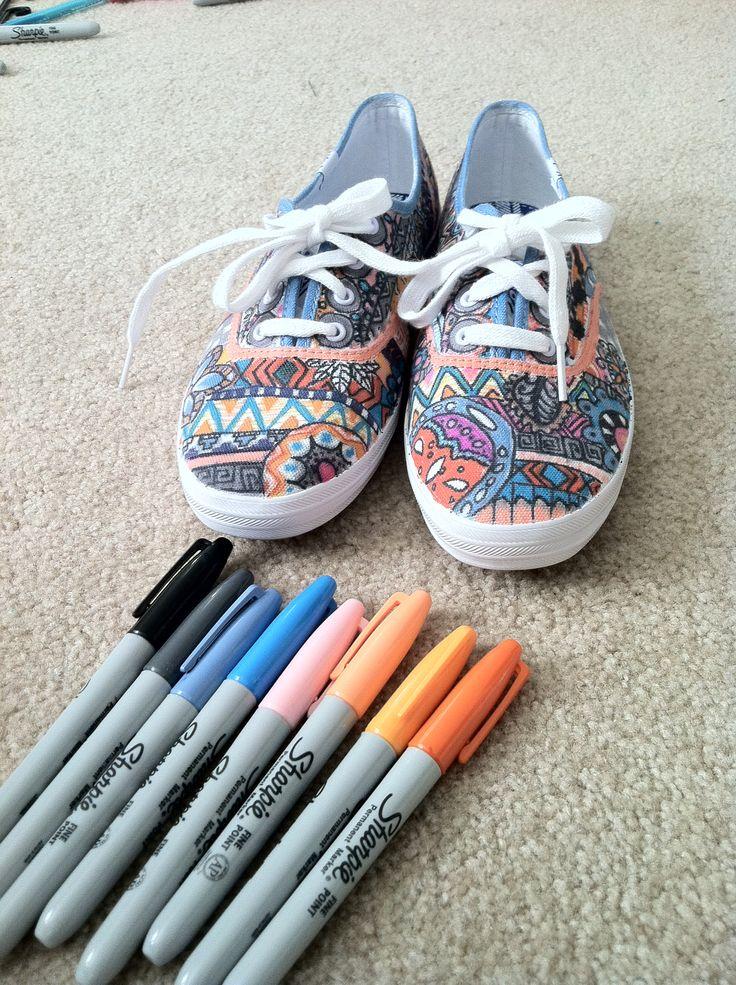 DIY sharpie shoes 14 best hannahs shoes