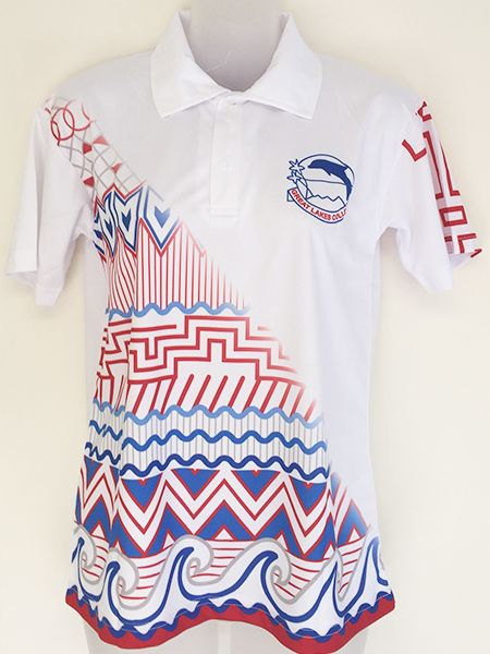 fca0ee5d3 Printed (sublimated) polo shirt for Tuncurry High School - Custom Made  Workwear