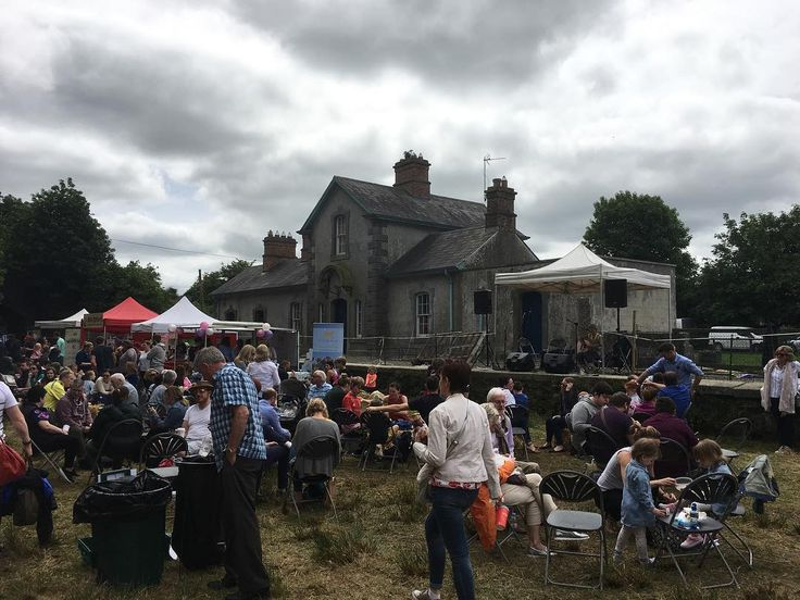 Old station house Sheridan's Irish food festival Virginia Co. Meath #ireland #ireland #meath