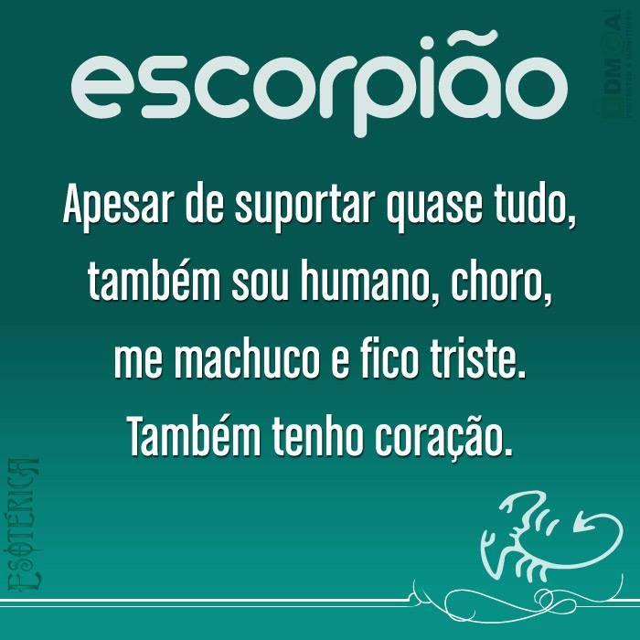 Esotérica Escorpião - <3
