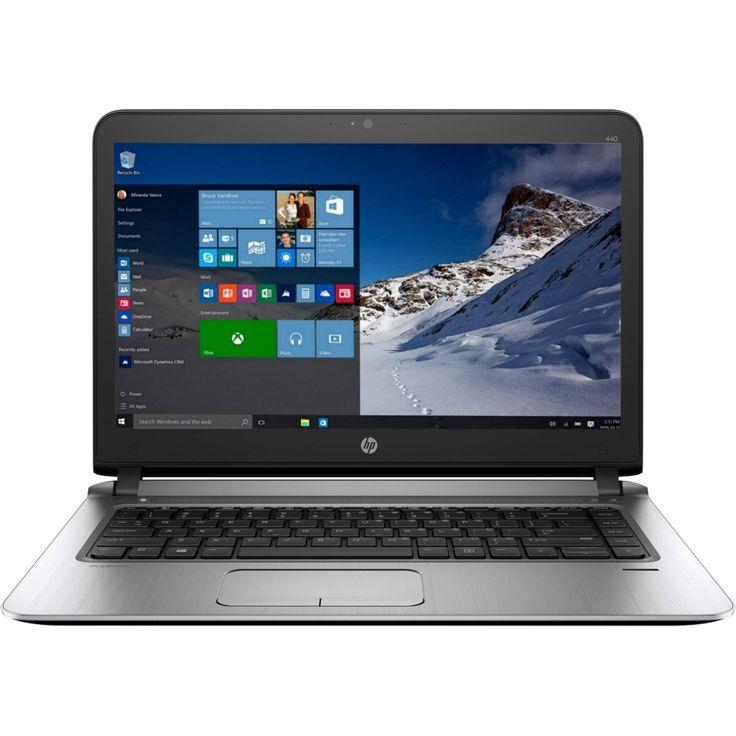 Laptop HP Probook 440 G3, Intel Core i7-6500U, 8GB DDR4, SSD 256GB, Intel HD Graphics, Windows 10 Pro