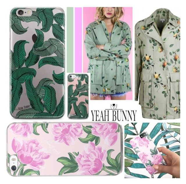 """Peony Leaves *yeah-bunny"" by nindi-wijaya ❤ liked on Polyvore featuring YeahBunny and omteloletom"