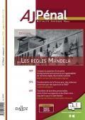 SENNA, E. La succession au CGLPL : l'amorce d'une seconde étape. AJ Pénal, 2015, p.483 http://bu.dalloz.fr.doc-distant.univ-lille2.fr/