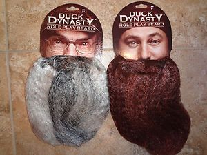 new duck dynasty uncle si or willie robertson role play beard costume halloween ebay - Jase Robertson Halloween Costume