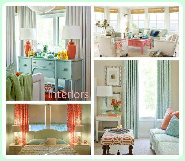 Mint And Coral Bedroom Ideas For My Nursery Pinterest