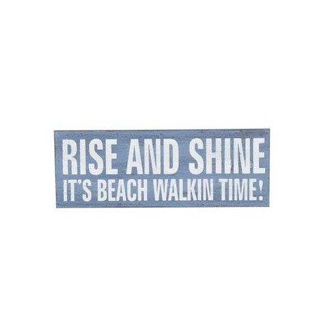 Beach Plaque - Rise & Shine