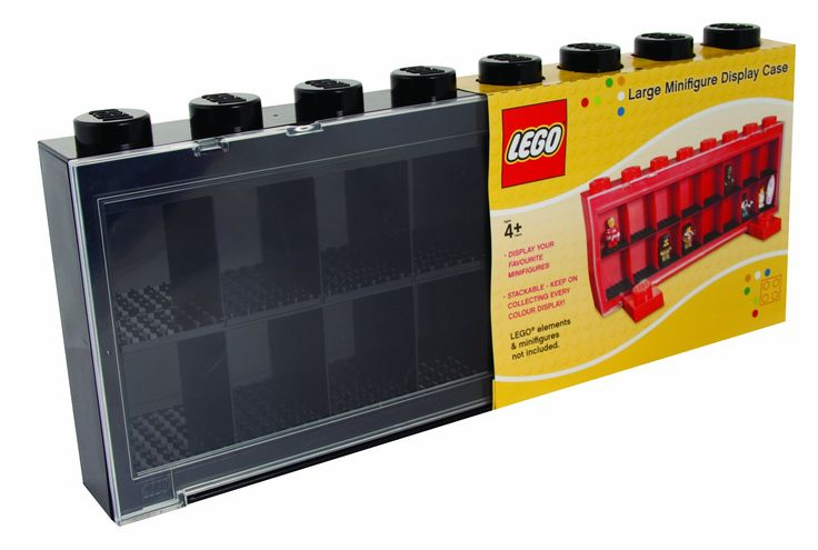 Sablon 106-004-0 - LEGO Minifiguren Schaukasten groß für 16 Figuren, farbiger sortiert: Amazon.de: Spielzeug