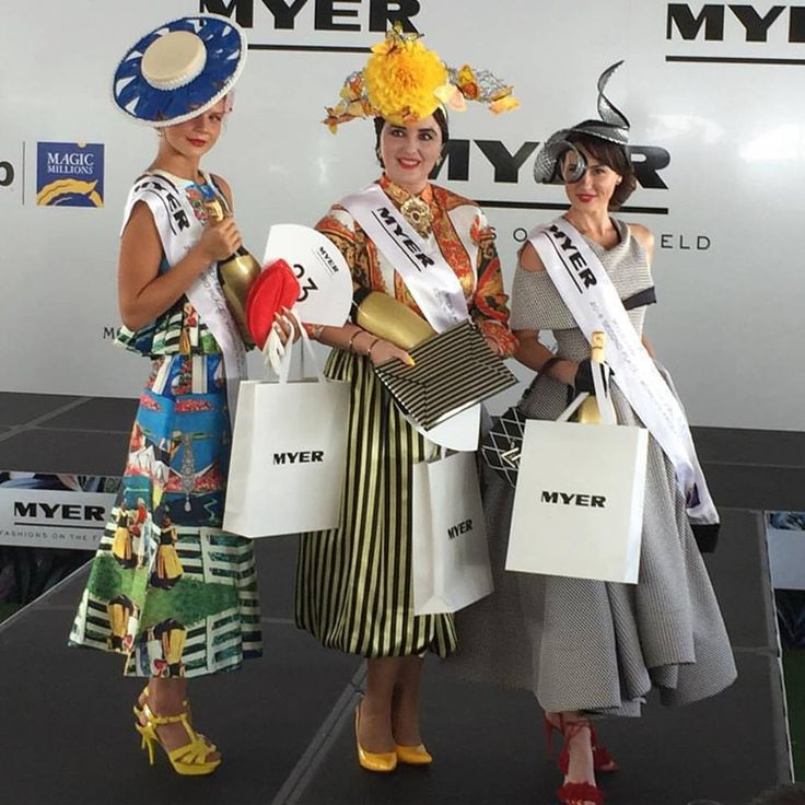 2016 Myer Fashion on the Field National Competition | ON TRACK ON TREND