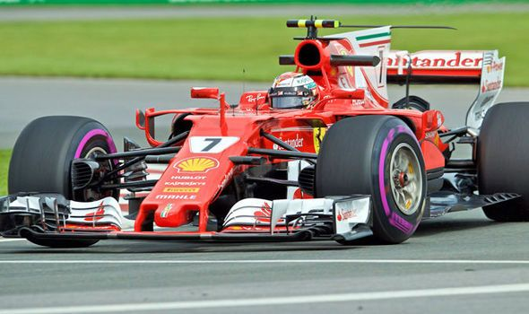 Canadian Grand Prix: Ferrari and Mercedes dominate as Raikkonen tops second practice
