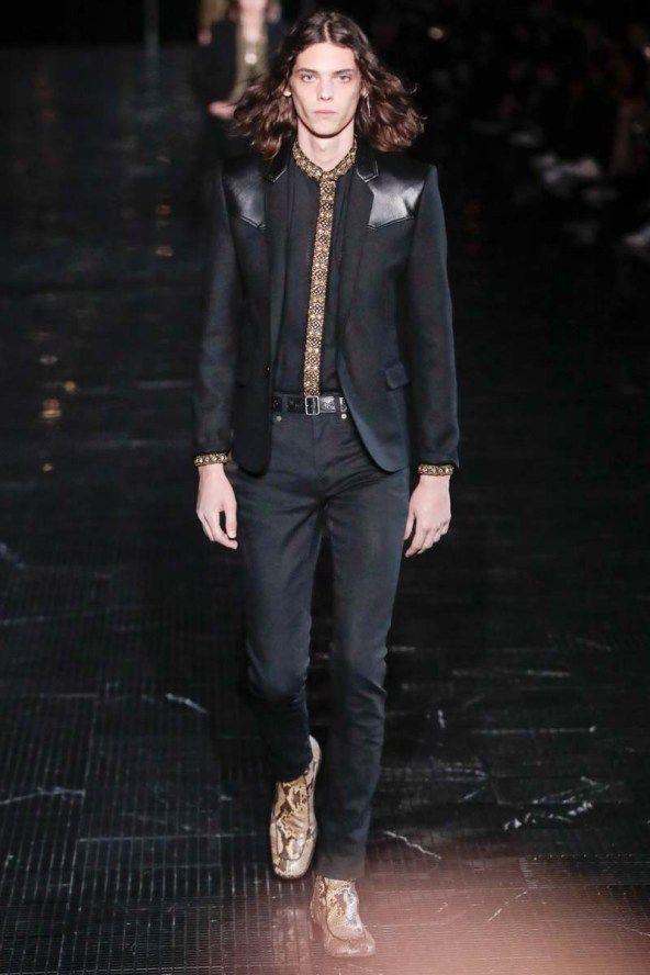 Défilé Saint Laurent Menswear Printempsété 2019 Mode Homme
