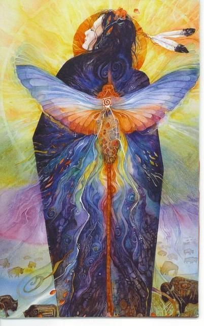 """""""Dragonfly Medicine: Dragonfly is the essence of the winds of change, the messages of wisdom and enlightenment, and the communications from the elemental world. This elemental world is made up of the tiny spirits of plants, and of the elements air, earth, fire, and water. In essence, this world is full of nature spirits. ~"""""""