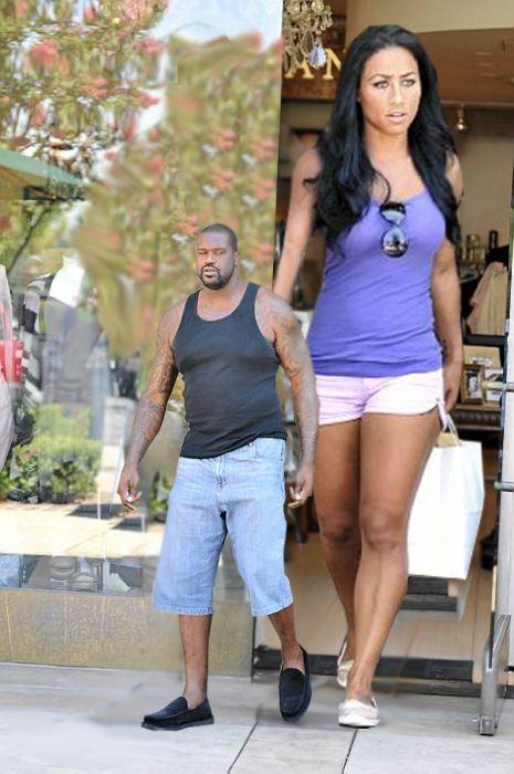 Shaq dating short girl