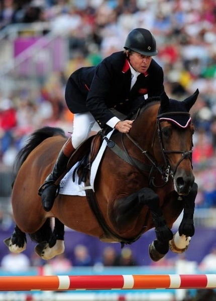 Nick Skelton and the Showjumping Team