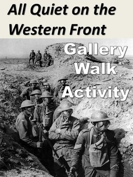 essay questions on all quiet on the western front Free essays from bartleby | all quiet on the western front, the wars, and a  farewell to arms any and all events  this made them question the reason for.