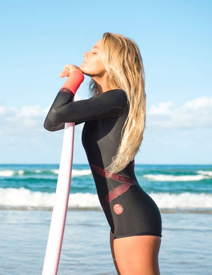 womens 5mm wetsuit sale #girl in 2020   Surfer girl style ...