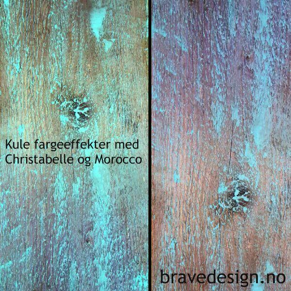 Kule effekter på treverk og panel! Vintro kalkmaling farge Christabelle. #kalkmaling #vintrokalkmaling #nettbutikk #forhandler