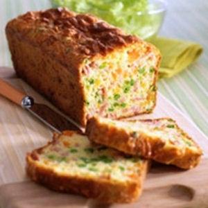 Cake au jambon et petits légumes! A déguster en famille ou entre amis!