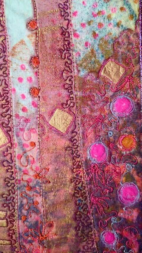 Angie Hughes Textiles - detail