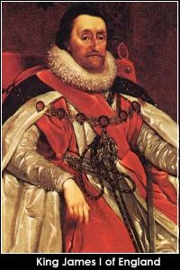 25 Most Evil People of the 16th Century CE   King James Ist ~ witch hunter, torturer - and also the same King James of the Bible version..