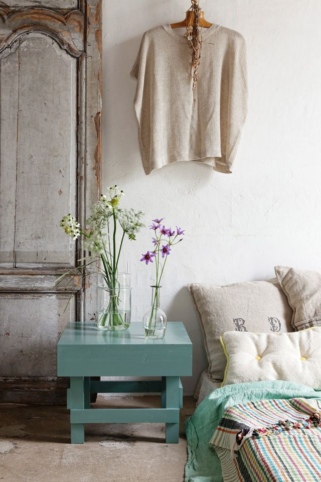 Love the colours, textures and overall feel, great feng shui for East area. More tips: http://FengShui.About.com