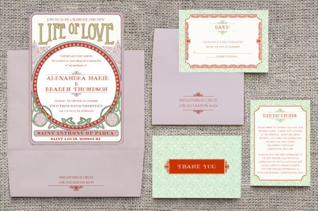 Art Deco Wedding Suite |
