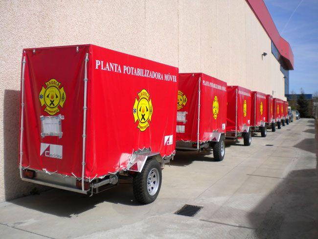 Eurofinsa. Suministro, instalación y formación de plantas móviles en Angola (10 uds.)