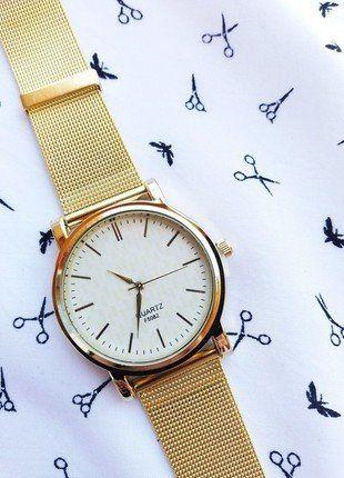 Kup mój przedmiot na #vintedpl http://www.vinted.pl/akcesoria/zegarki/19017598-zegarek-zloty-marki-geneva-wideo-videoopen-idealny-na-prezent