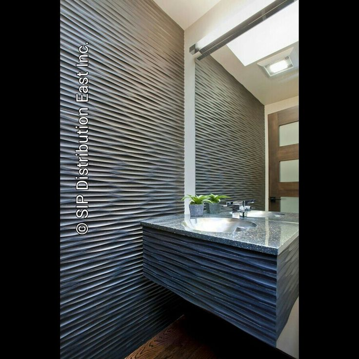 """Versatility At It's Finest ! PaperStone is easily worked with CNC-routers to produce signs & other products containing intricately detailed architectural components. Look at this PaperStone """"Wave Wall"""" that can be achieved! This new attractive material is produced in a socially responsible manner and is strong, tough, has steel-like strength, stone-like beauty and it can be worked Iike fine hardwoods. For business inquiries & questions visit www.sipeast.ca or contact our offi"""