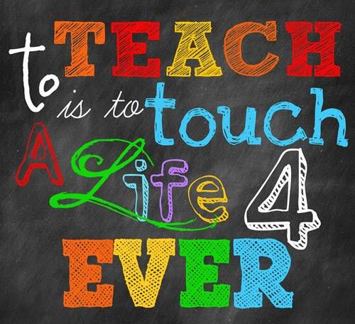 To all of the teachers, please know that you are appreciated! Happy #NationalTeachersDay!