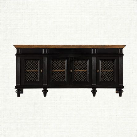 Inspired By French Farmhouse Antiques, The Beckett TV Console Is A  Beautiful Reproduction Modernized By