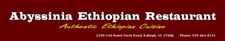 Abyssinia Ethiopian Restaurant-Raleigh-Durham-Cary-Chapel Hill, NC