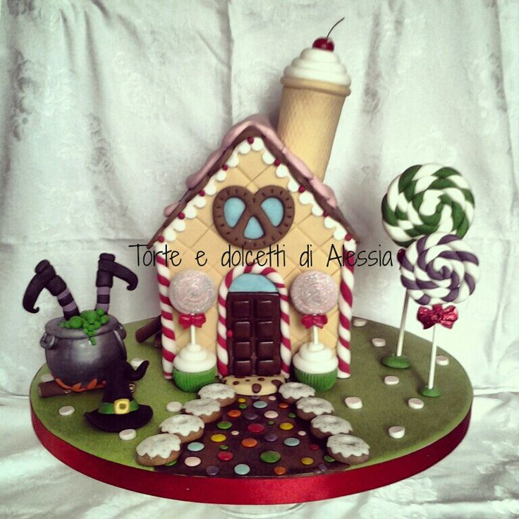 Hansel And Gretel House Cake