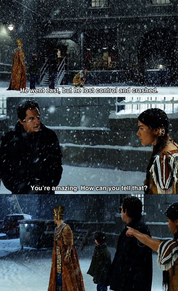 He went East ~ Night at the Museum (2006) ~ Movie Quotes #amusementphile