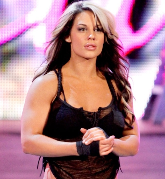 WWE  Kaitlyn s hair I love it  would live to do my hair like hers Wwe Kaitlyn Hair 2013