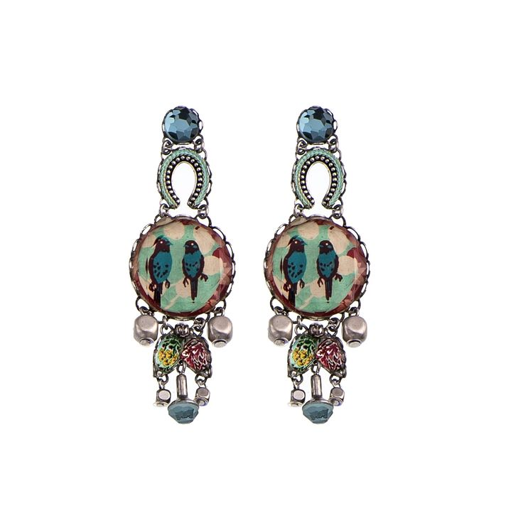 "Orecchini ""Lullaby Birdland"" della Radiance Collection   di Ayala Bar, Summer 2016 #AyalaBar #AIBIJOUX #gioiellidautore #bijoux #fashionjewelry"