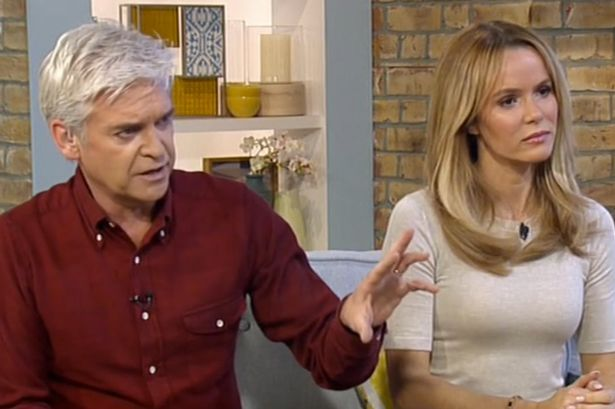 TV hosts including Phillip Schofield and Amanda Holden will have to work a double shift, presenting one episode of This Morning live and then filming another one to go out on Thursday
