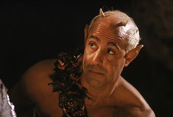 A Midsummer Night's Dream (1999) - Puck:  If we shadows have offended, Think but this, and all is mended, That you have but slumber'd here, While these visions did appear ...