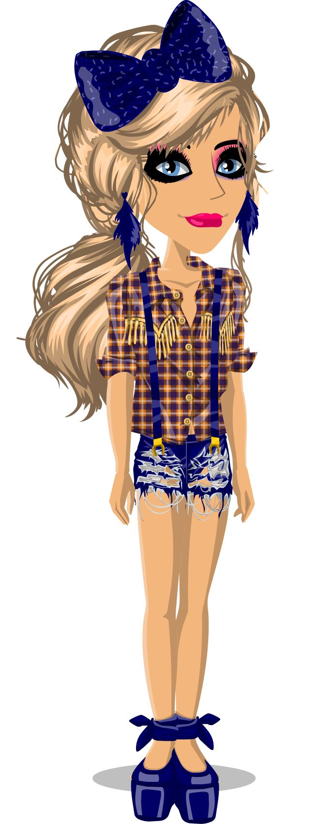 ( not me ) I could see this brig a stylish farmer girl