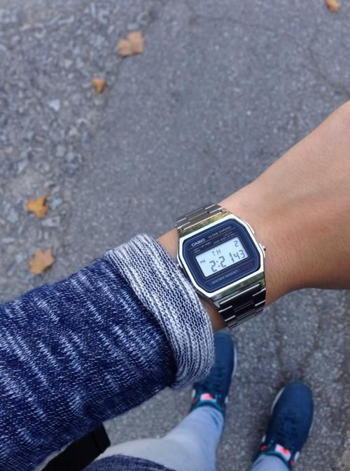 Casio watch silver