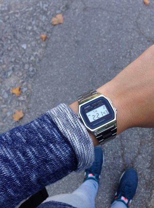 Casio watch silver