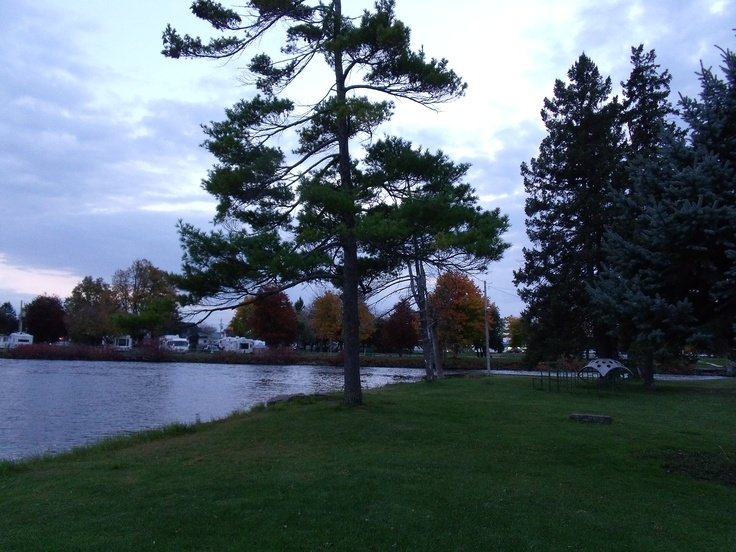 . . .  what about a relaxing walk here in this very small Island-Part in the River . . .