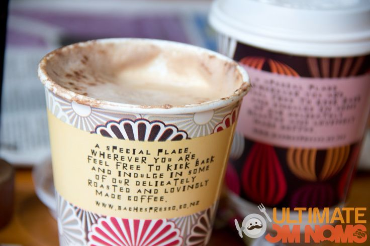 Our delicious Bach Espresso coffee featured on Ultimate Om Noms!